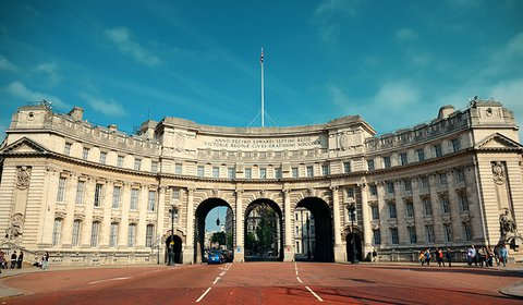 The 'cives' of the Admiralty Arch