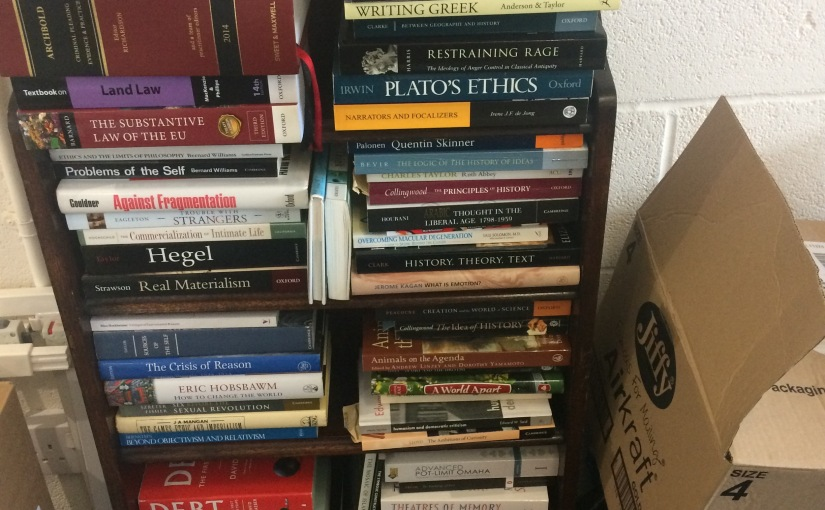 Clearing my Shelves