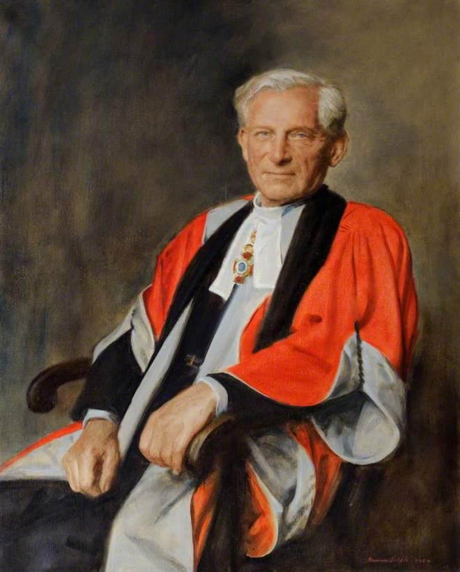 Hepple, Norman, 1908-1994; Professor Owen Chadwick (b.1916), DD, OM, Master (1956-1983)